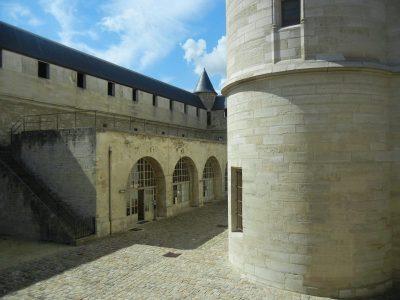 Courtyard of the Château de Vincennes/Naomi Reichstein photo