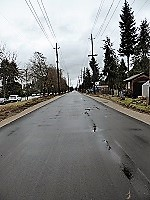 Arbutus Greenway, paved at 57th Avenue, January 2017/Naomi Reichstein photo