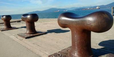 Jericho pier, Vancouver/Naomi Reichstein photo