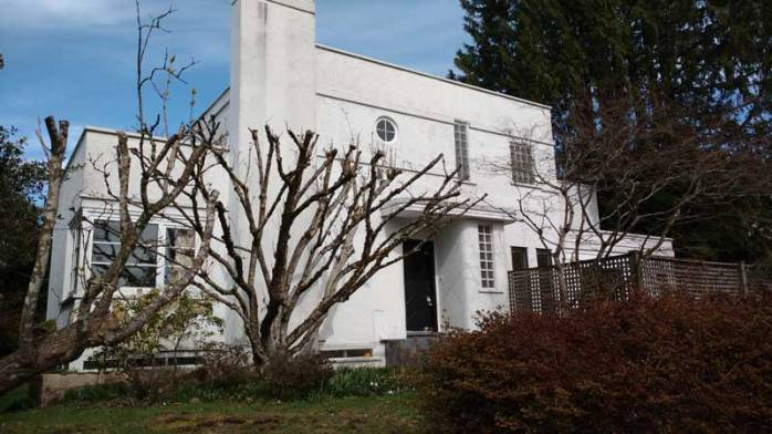 Art deco, a rare sight in Vancouver's residential scene/Naomi Reichstein photo